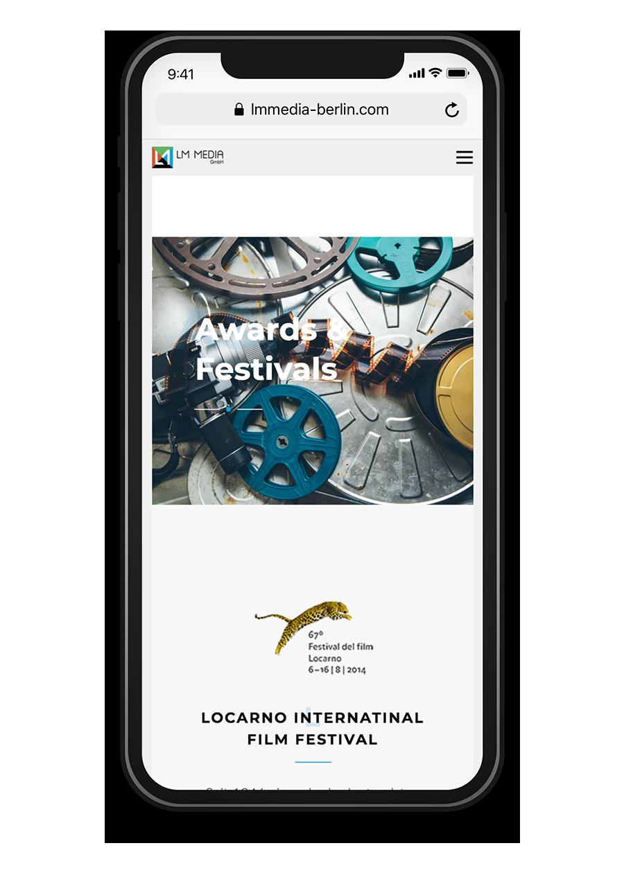 LM Media Berlin Awarded Festivals Mobile