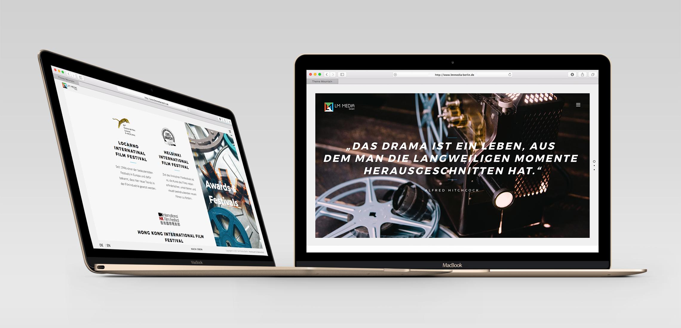 LM Media Berlin Desktop