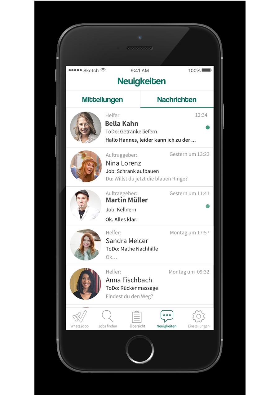 Whats2doo - Native App - Neuigkeiten Nachrichten