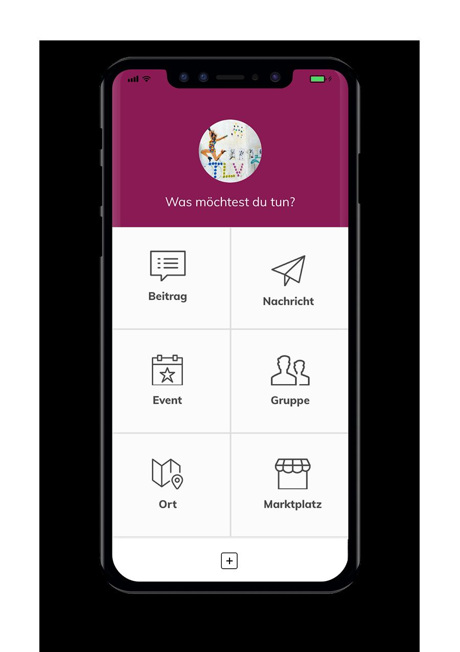Wir von Hier - Native App - News Feed