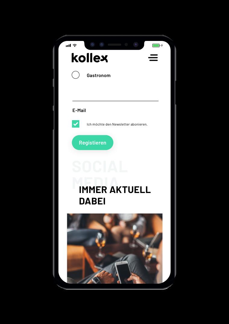 kollex Mobile - Social Media