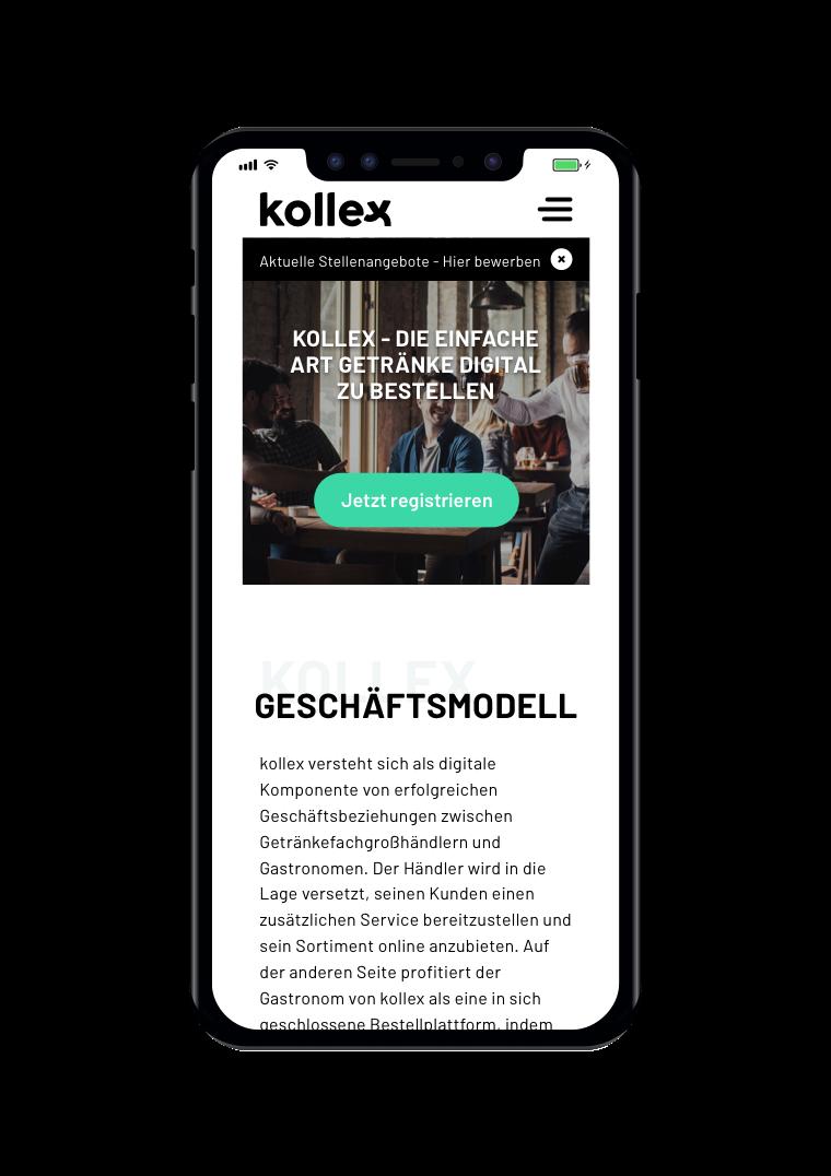 kollex Mobile - Startseite
