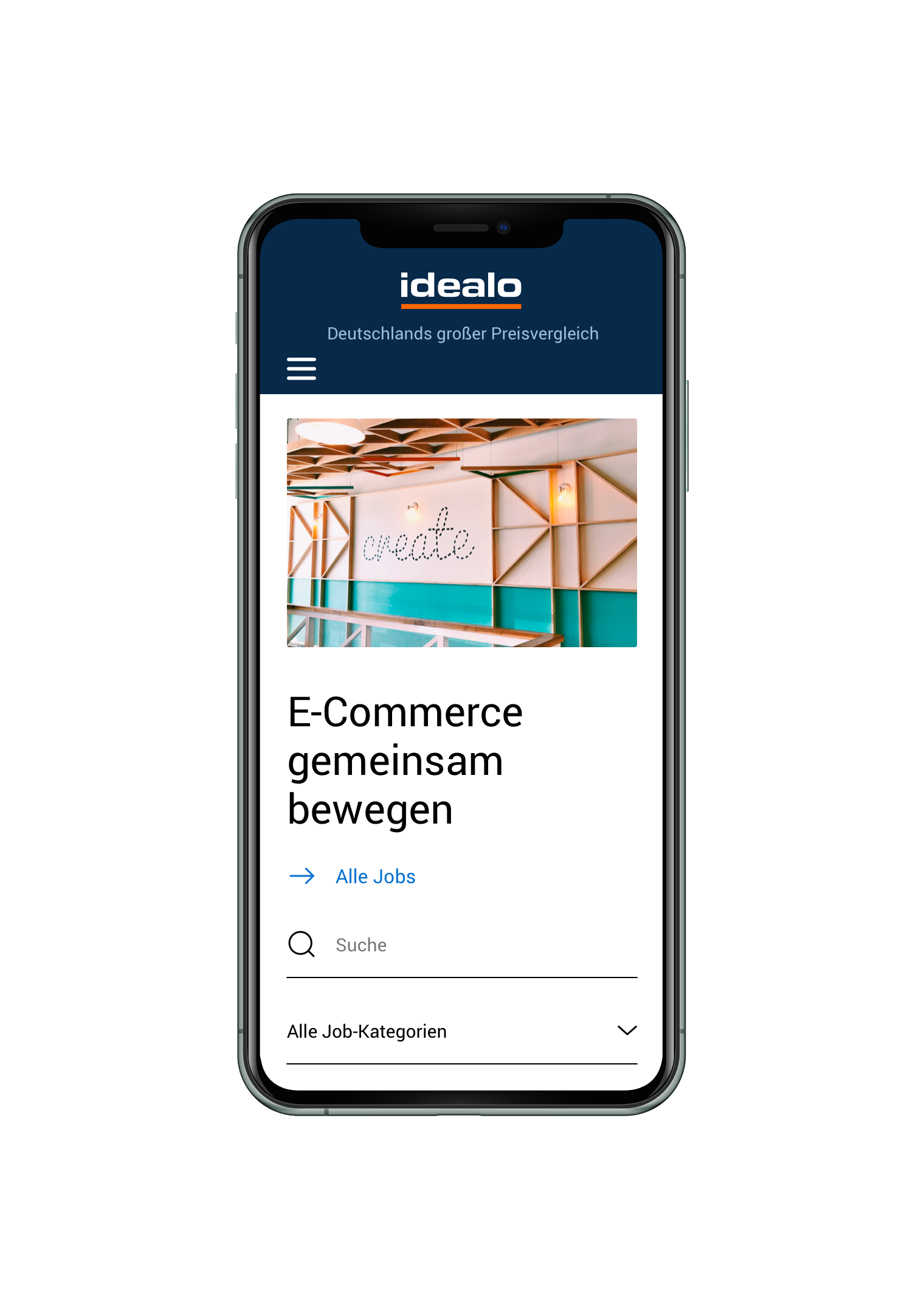 idealo CMS Mobile - View 1